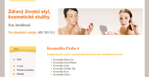 Kosmetika Praha 4 - Eva Jersáková