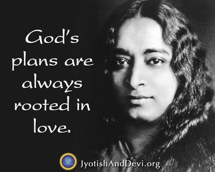 Boží plány mají vždy kořeny v lásce