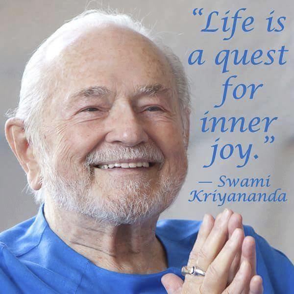 Život je hledání vnitřní radosti