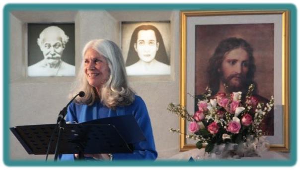 Kirtany, duchovní ředitelka Anandy Assisi