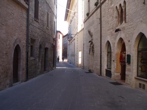Assisi ulička