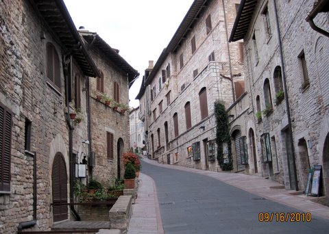 Assisi ulice