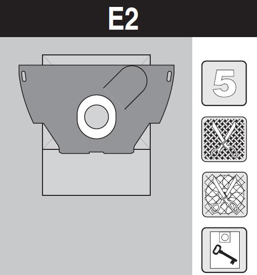 sáček do vysavače e2