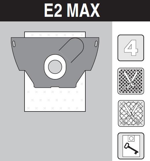 sáček do vysavače e2_max