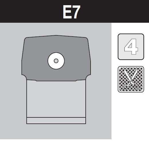 sáček do vysavače e7