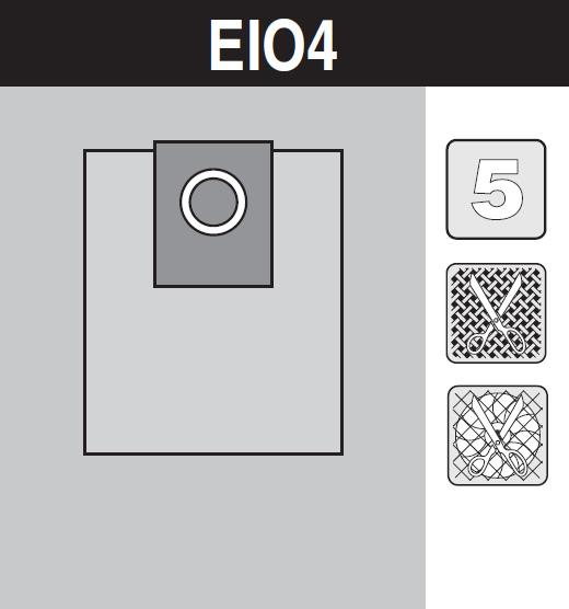 sáček do vysavače el04