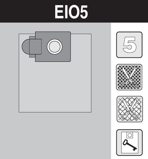 sáček do vysavače el05