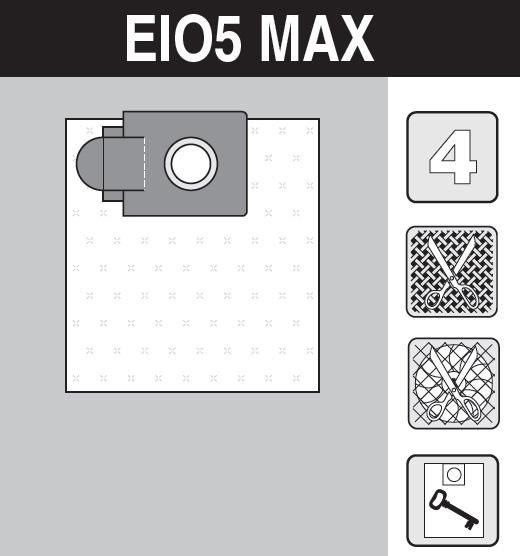 sáček do vysavače el05_max