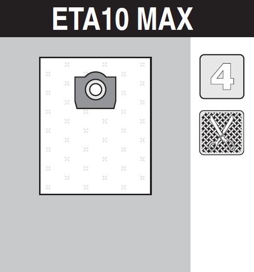sáček do vysavače eta10_max