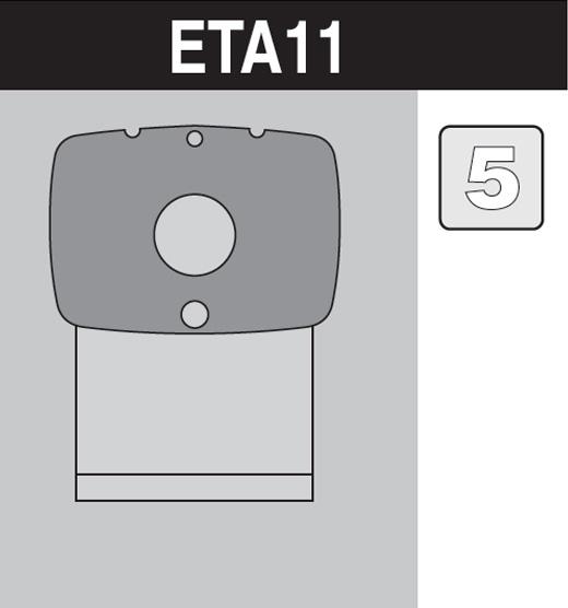 sáček do vysavače eta11