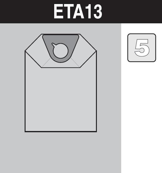 sáček do vysavače eta13