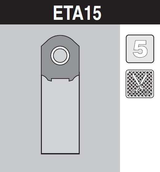 sáček do vysavače eta15