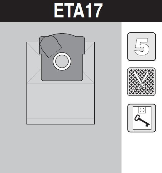 sáček do vysavače eta17