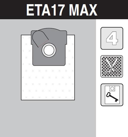 sáček do vysavače eta17_max