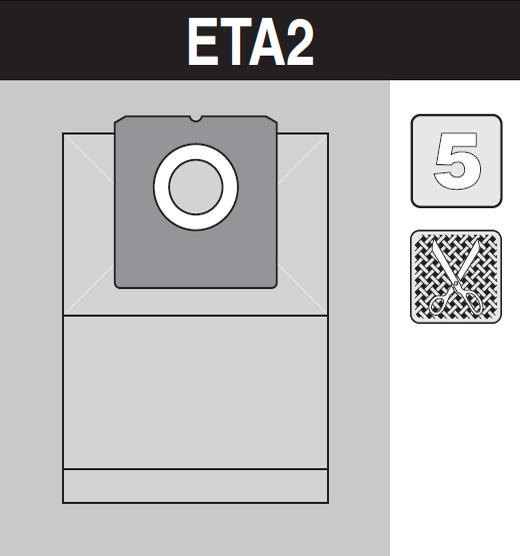 sáček do vysavače eta2