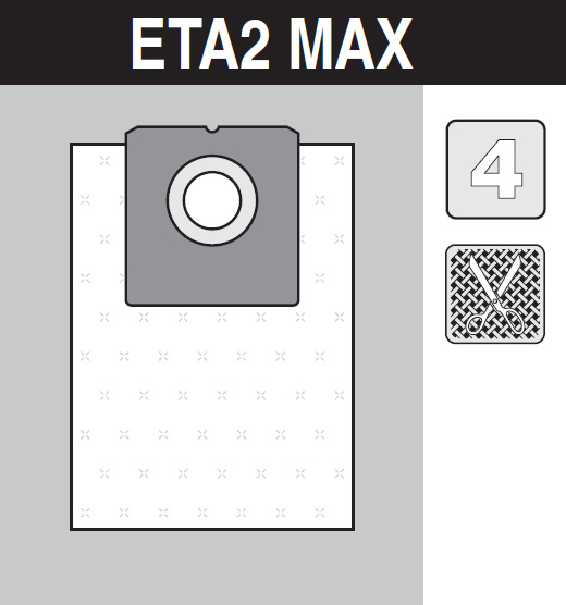 sáček do vysavače eta2_max