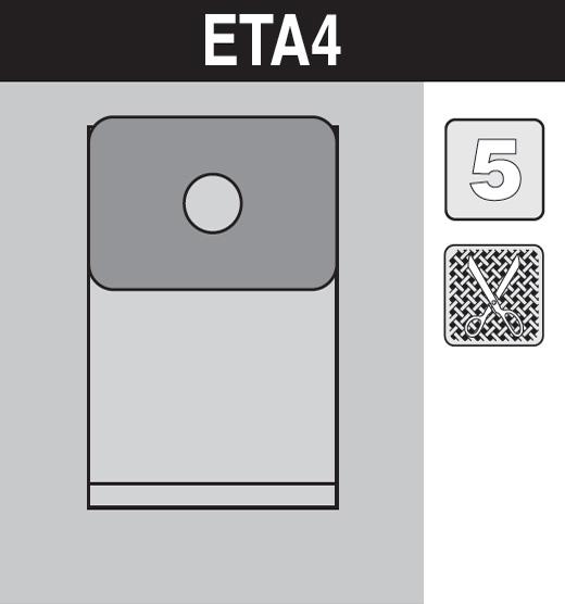sáček do vysavače eta4