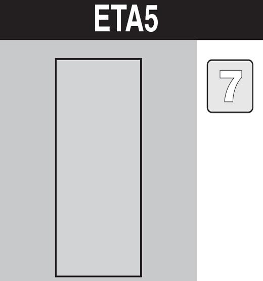sáček do vysavače eta5