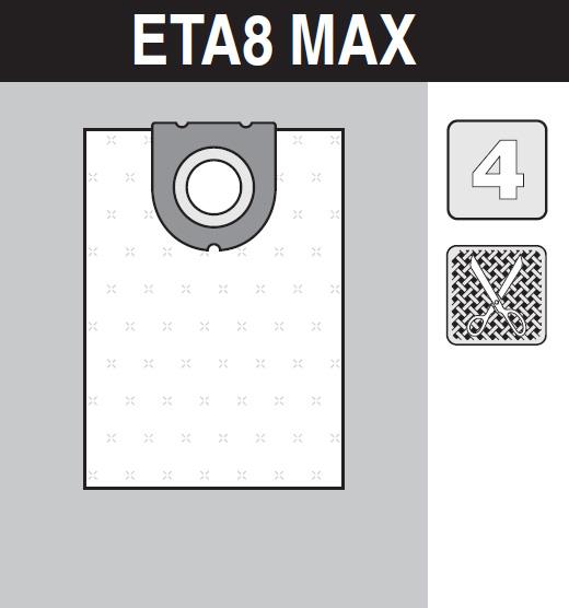 sáček do vysavače eta8_max