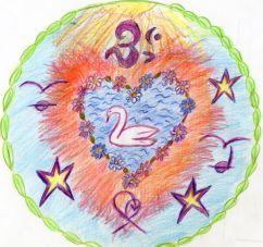 labutí srdce